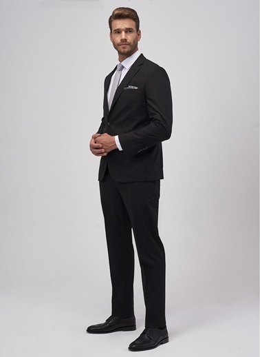 Altınyıldız Classics Altınyıldız Classic Siyah Takım Elbise Siyah
